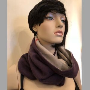 Burberry Check Cashmere Snood (scarf) NWT